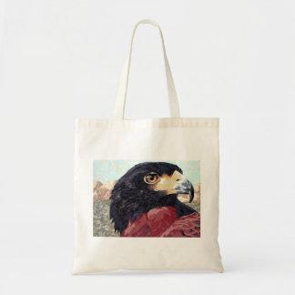 Harris Hawk textile Canvas Bag