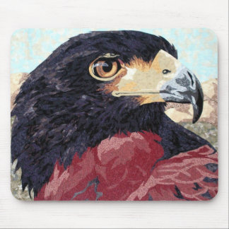 Harris Hawk textile Mouse Pad