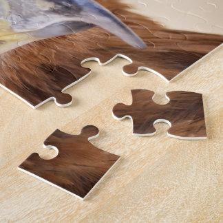 Harris Hawk Watching Jigsaw Puzzle