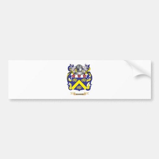 Harris-(Ireland) Coat of Arms (Family Crest) Car Bumper Sticker