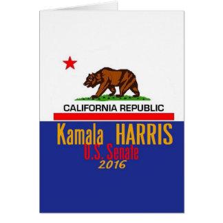 HARRIS Senate 2016 Card