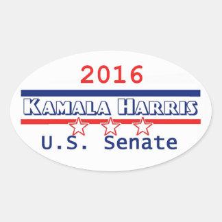 HARRIS Senate 2016 Oval Sticker