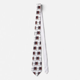 Harris Tartan Shield Tie