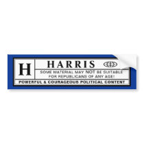 Harris Warning Label
