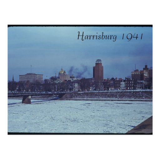 Harrisburg 1941 Postcard