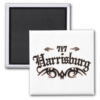 Harrisburg 717 magnet