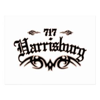 Harrisburg 717 postcard