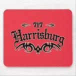 Harrisburg 717 tapetes de ratones