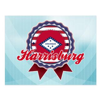 Harrisburg AR Tarjeta Postal