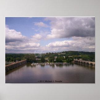 Harrisburg, base de hidroavión del PA Poster