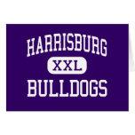 Harrisburg - Bulldogs - High - Harrisburg Illinois Cards