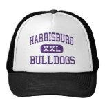 Harrisburg - Bulldogs - High - Harrisburg Illinois Trucker Hat