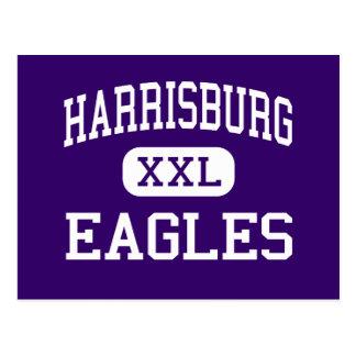 Harrisburg - Eagles - altos - Harrisburg Oregon Tarjeta Postal