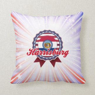 Harrisburg, MO Throw Pillows