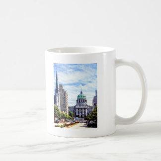 Harrisburg PA - Capitol Seen from State Street Coffee Mug