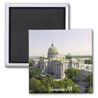 Harrisburg PA 2 Inch Square Magnet