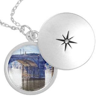 Harrisburg PA - Market Street Bridge Locket Necklace