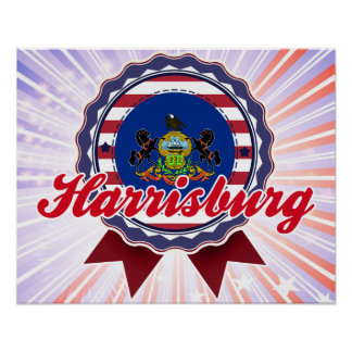 Harrisburg, PA Poster