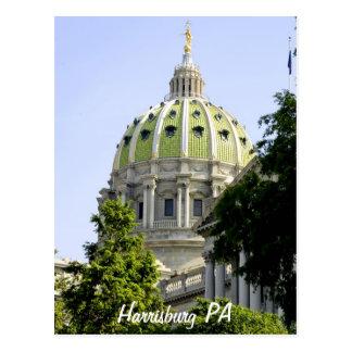 Harrisburg PA Postcard