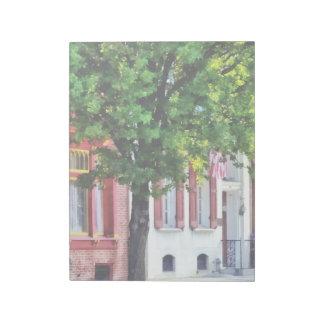 Harrisburg PA - Quiet Harrisburg Street Note Pad