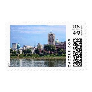 Harrisburg PA Skyline II Postage
