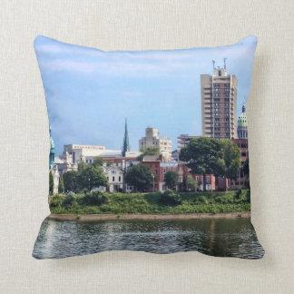 Harrisburg PA Skyline II Throw Pillow