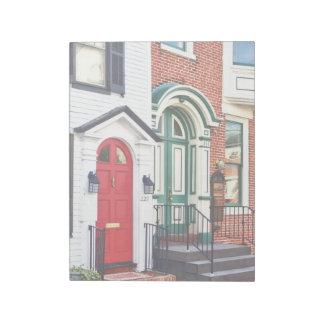 Harrisburg PA - Two Doors Notepad
