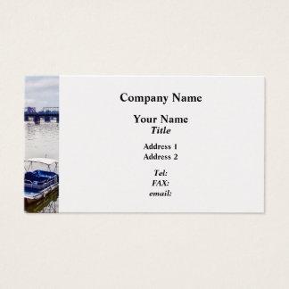 Harrisburg PA -View of Walnut Street Bridge Business Card