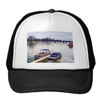 Harrisburg PA -View of Walnut Street Bridge Trucker Hat