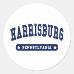 Harrisburg Pennsylvania College Style tee shirts Sticker