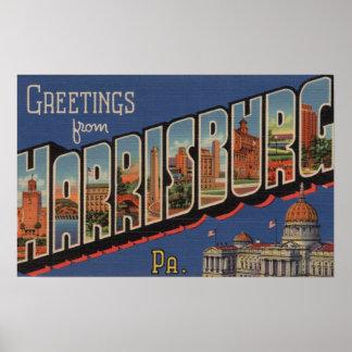 Harrisburg, Pennsylvania - escenas grandes de la l Posters