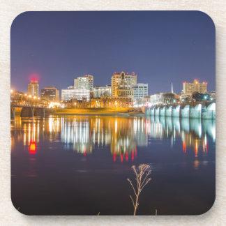 harrisburg pennsylvania skyline Dauphin County Drink Coasters