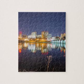 harrisburg pennsylvania skyline Dauphin County Puzzles