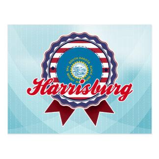 Harrisburg SD Tarjeta Postal