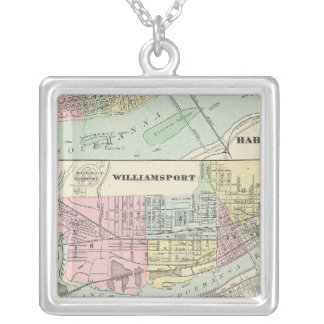 Harrisburg, Williamsport, Erie, Scranton Collar Plateado