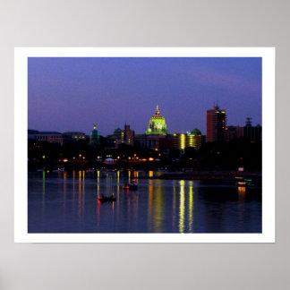 Harrisburg y la impresión de Susquehanna Impresiones