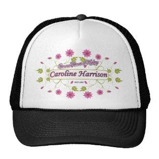 Harrison ~ Caroline ~ Famous American Women Hats