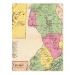 Harrison, ciudades de Rye Tarjeta Postal