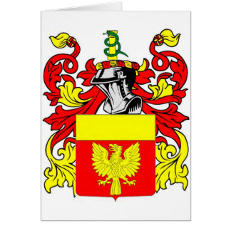 Harrison Coat of Arms Card
