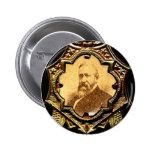 Harrison Eagle - botón Pins