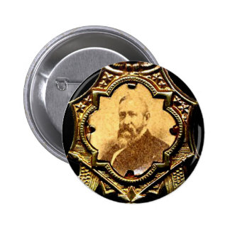 Harrison Eagle - Button