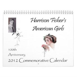 Harrison Fisher 100th Anniversary 2012 Calendar
