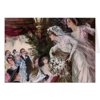 Harrison Fisher: Catch the Bridal Bouquet