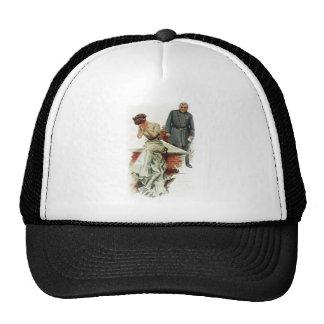 Harrison Fisher Girl When a Man Marries Jilted Trucker Hat