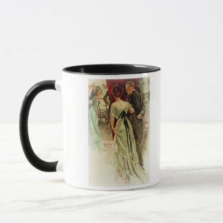 Harrison Fisher Girl When Man Marries To the Ball Mug