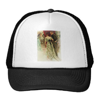 Harrison Fisher Girl When Man Marries To the Ball Trucker Hat