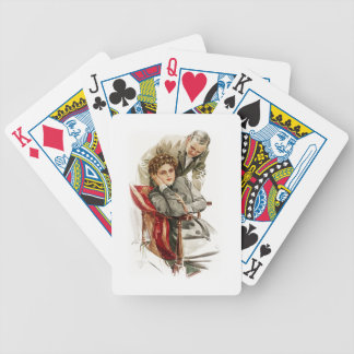 Harrison Fisher Heart's Desire Merciless Silence Bicycle Playing Cards
