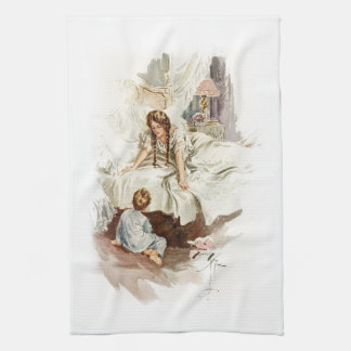 Harrison Fisher Hearts Desire Really My Mother Hand Towel