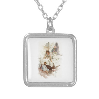 Harrison Fisher Hearts Desire Really My Mother Square Pendant Necklace