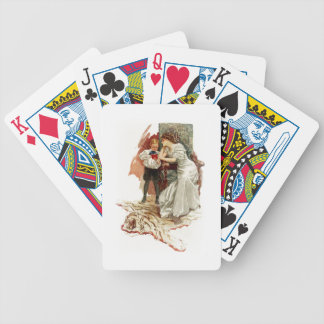 Harrison Fisher Hearts Desire This is My Age Book Bicycle Playing Cards
